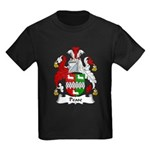 Pease Family Crest Kids Dark T-Shirt