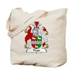 Pease Family Crest Tote Bag