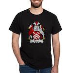 Peach Family Crest Dark T-Shirt