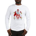 Peach Family Crest Long Sleeve T-Shirt