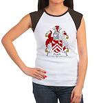 Peach Family Crest Women's Cap Sleeve T-Shirt