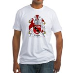 Payler Family Crest Fitted T-Shirt