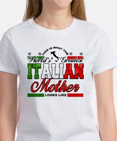 World's Greatest Italian Mother Women's T-Shirt