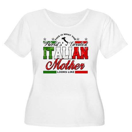 World's Greatest Italian Mother Women's Plus Size