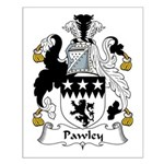 Pawley Family Crest Small Poster