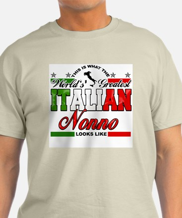 World's Greatest Italian Nonno T-Shirt