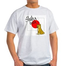 sheba inu Ash Grey T-Shirt