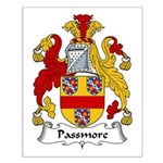 Passmore Family Crest Small Poster