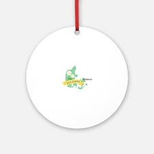 Denmark Copenhagen Capital Ornament (Round)