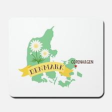 Denmark Copenhagen Capital Mousepad
