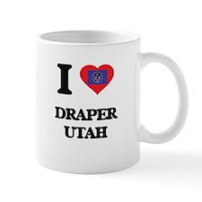 I love Draper Utah Mugs