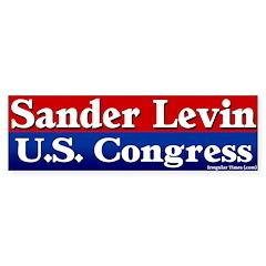 Sander Levin Bumper Bumper Sticker