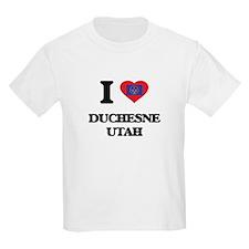 I love Duchesne Utah T-Shirt