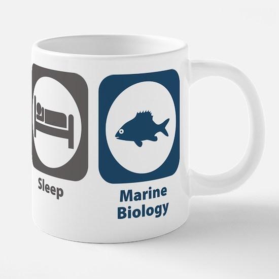 Eat Sleep Marine Biology Mugs