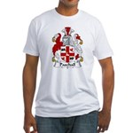 Paschall Family Crest   Fitted T-Shirt