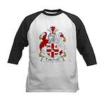 Paschall Family Crest   Kids Baseball Jersey