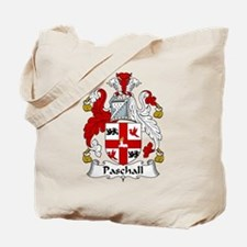 Paschall Family Crest Tote Bag