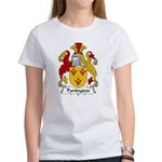 Partington Family Crest Women's T-Shirt