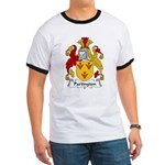 Partington Family Crest Ringer T