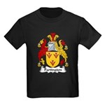 Partington Family Crest Kids Dark T-Shirt
