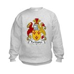 Partington Family Crest Kids Sweatshirt