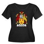 Partington Family Crest Women's Plus Size Scoop Ne