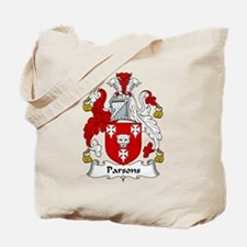 Parsons Family Crest Tote Bag