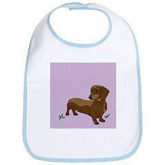 The Artsy Dog Dachshund Serie Bib