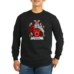 Parrott Family Crest Long Sleeve Dark T-Shirt