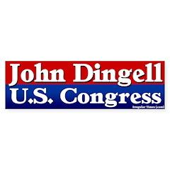 Re-elect John Dingell Bumper Sticker