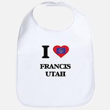 I love Francis Utah Bib