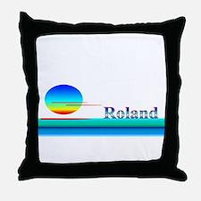 Roland Throw Pillow