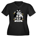 Parkhurst Family Crest Women's Plus Size V-Neck Da