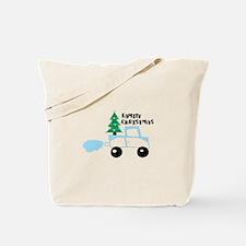 Christmas tree family christmas Tote Bag