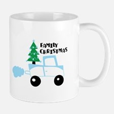 Christmas tree family christmas Mugs