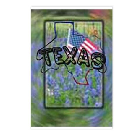 Texas Patriotism Postcards (Package of 8)