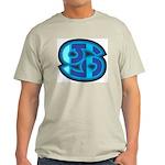 Cancer Symbol Ash Grey T-Shirt