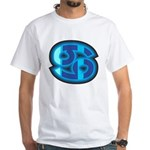 Cancer Symbol White T-Shirt