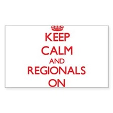 Keep Calm and Regionals ON Decal