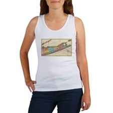 Vintage Map of Suffolk New York (1829) Tank Top