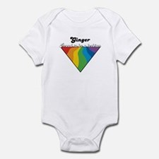 Ginger: Proud Lesbian Infant Bodysuit