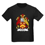 Parker Family Crest Kids Dark T-Shirt