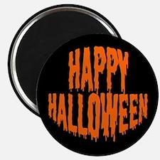 """Happy Halloween 2.25"""" Magnet (10 pack)"""