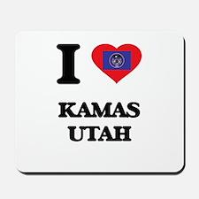 I love Kamas Utah Mousepad