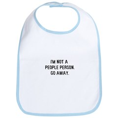 Not a people person Bib