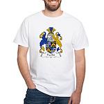 Parfitt Family Crest White T-Shirt