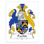 Parfitt Family Crest Small Poster