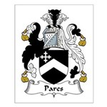 Pares Family Crest Small Poster