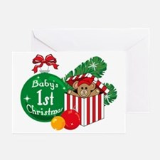 Baby's 1st Christmas Greeting Cards (Pk of 10)