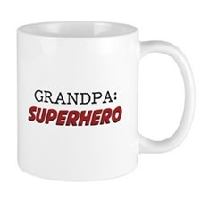 Grandpa is a Superhero Grandfather Mugs